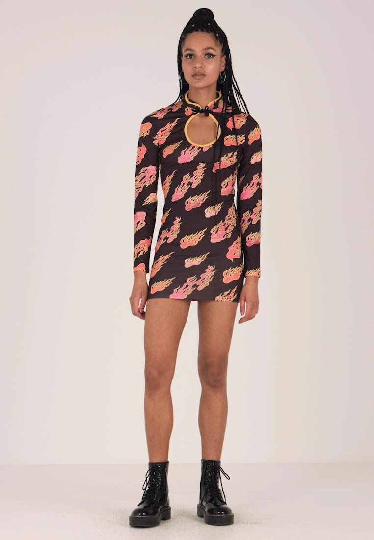 Jaded London - KEYHOLE FRONT  - Jerseyjurk - placement flame