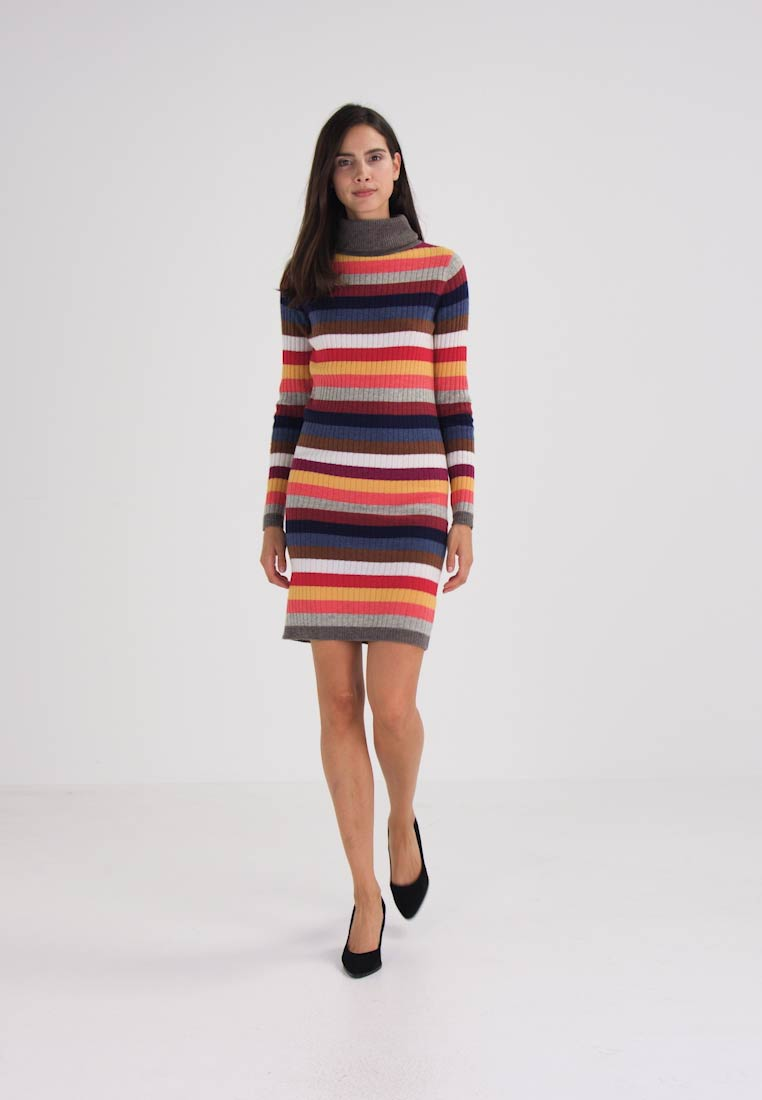 Josephine & Co AZIZA - Vestido de tubo multi colour dark