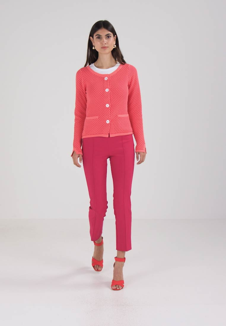 Josephine & Co LAUREEN CARDIGAN - Cardigan - indian pink