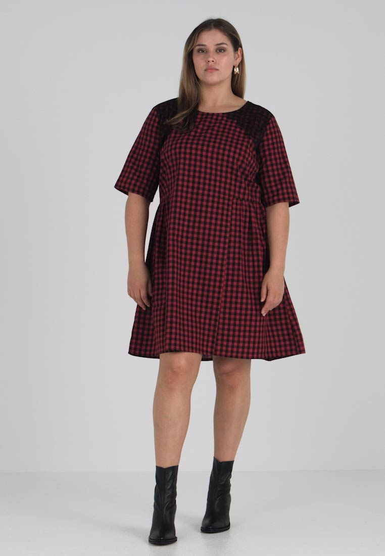 Above Jrolea Day Pepper Knee Dress Junarose Chili OwAdxqO5