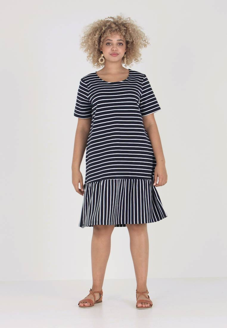 Navy Jrnewdomias Jerseyjurk Above Knee Dress Junarose XwHgff