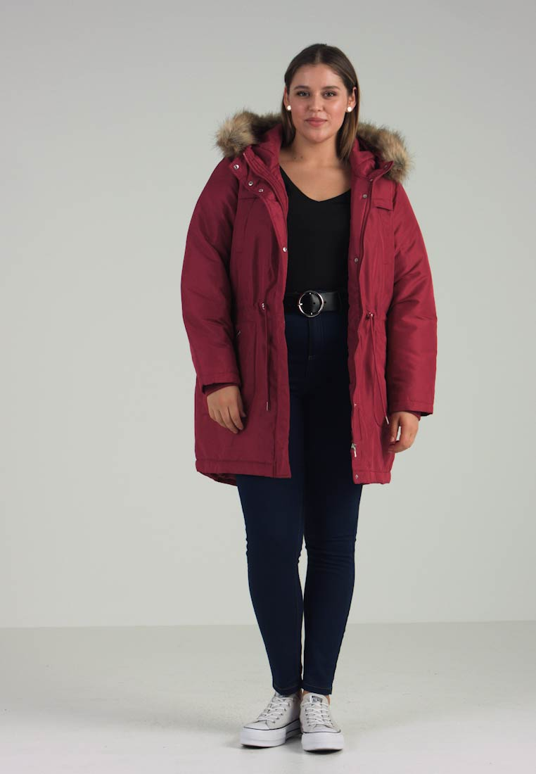 Coat Red Jrnewzinfa Junarose Rumba Winter 7RqxEnwU