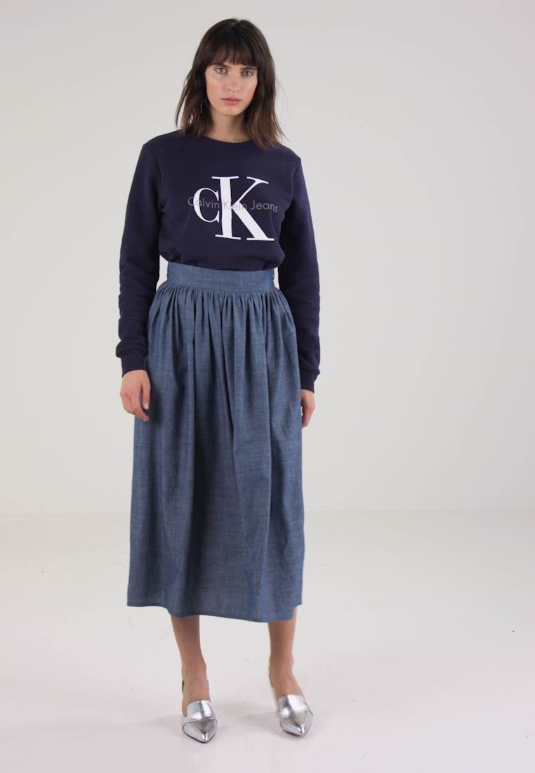 04bfe379e56 Kings Of Indigo JELOCIA - A-line skirt - light denim - Zalando.co.uk