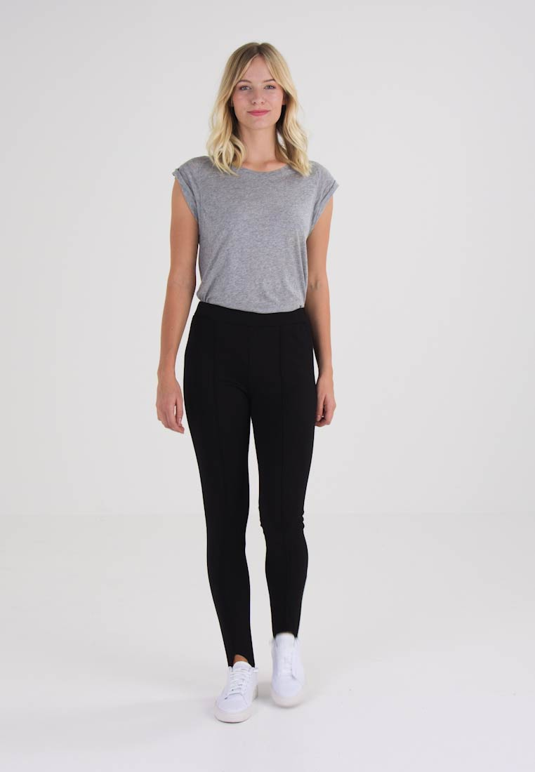 Kaffe KIANNA  - Leggings - black deep