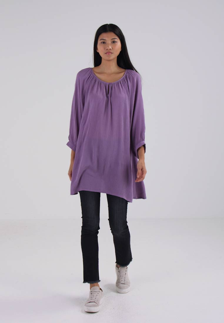 AMBER TUNIC - Tunica orchid mist