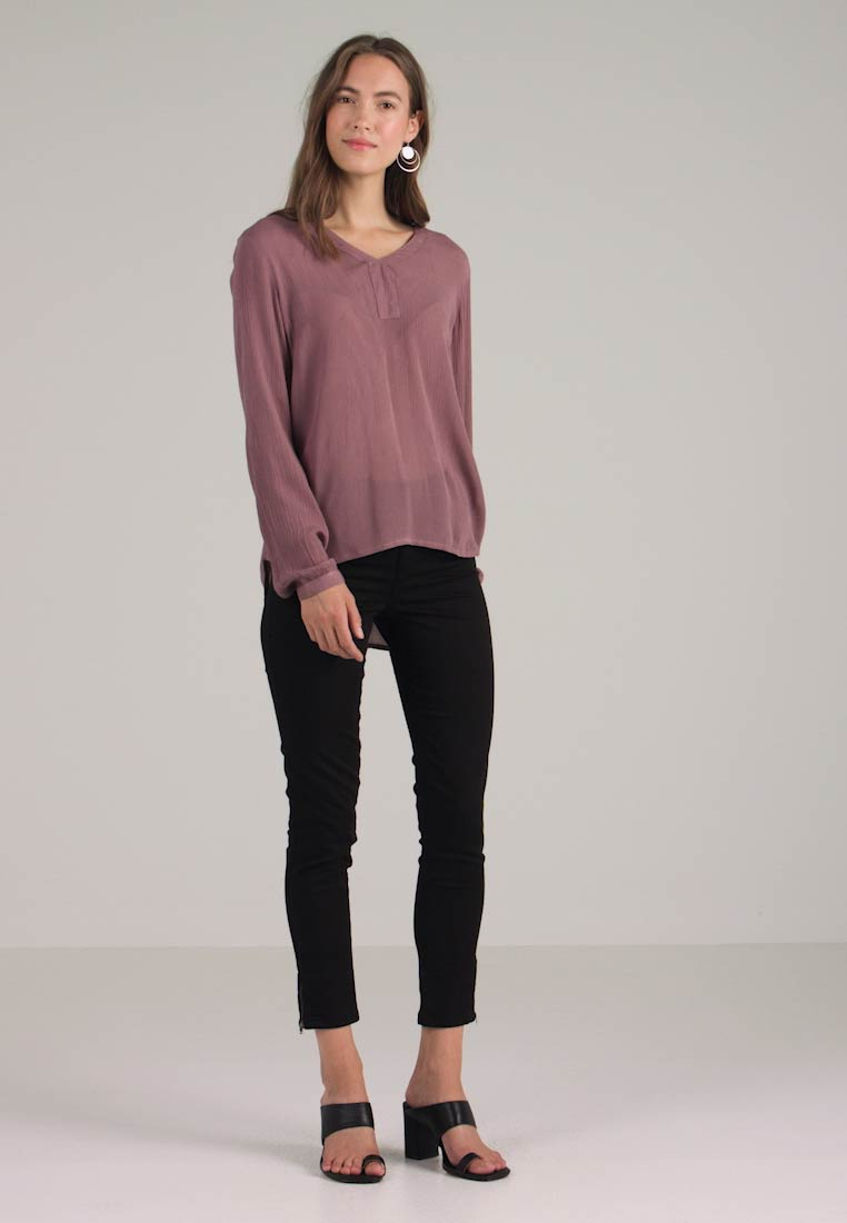 Kaffe BLOUSE AMBER heather BLOUSE Tunica Kaffe heather Kaffe AMBER Tunica d1xSAqwXSW