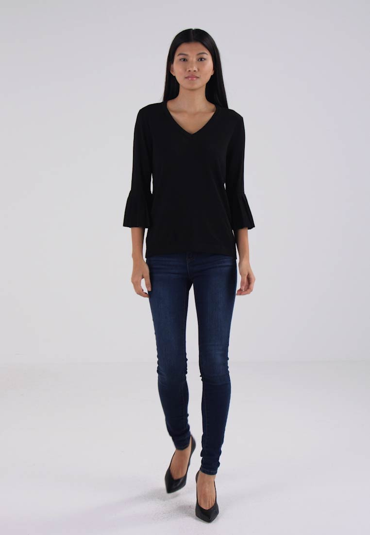 Kaffe SELLA - Jumper - black deep
