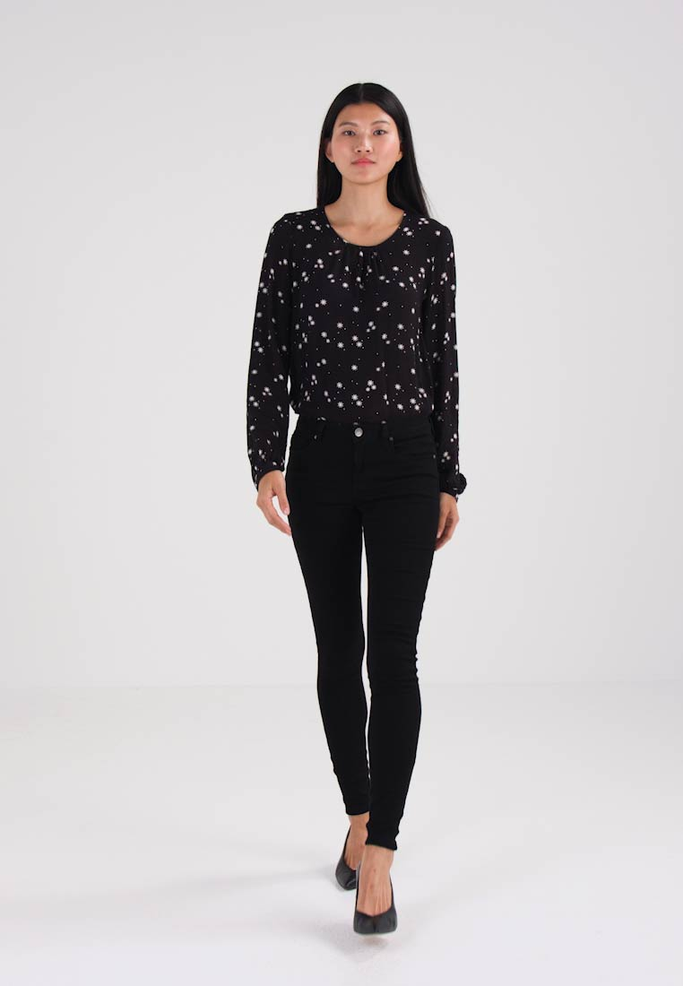 Kaffe - GRACE  - Jeans Skinny Fit - black deep