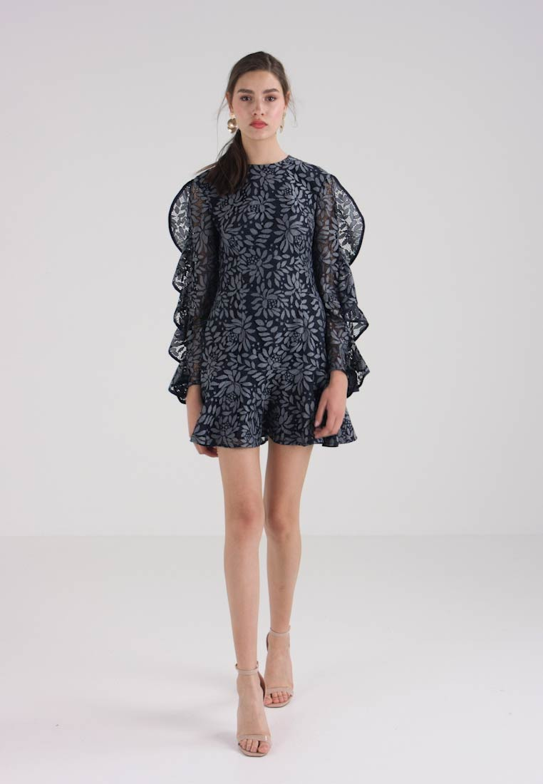 Dress Cocktail Navy Engage Keepsake Party 5qvCOwnFUx