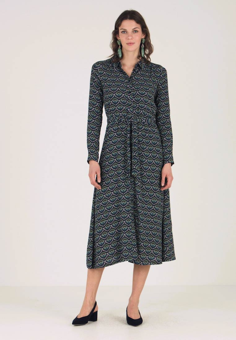 King Louie - MIDI DRESS ADONIS - Maksimekko - dark navy
