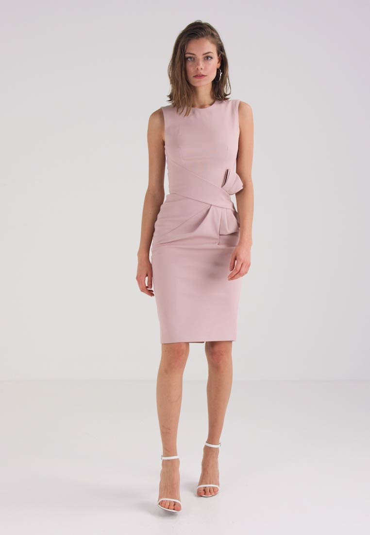 Karen Millen ESCAPING BOW DRESS - Cocktailkleid/festliches Kleid ...