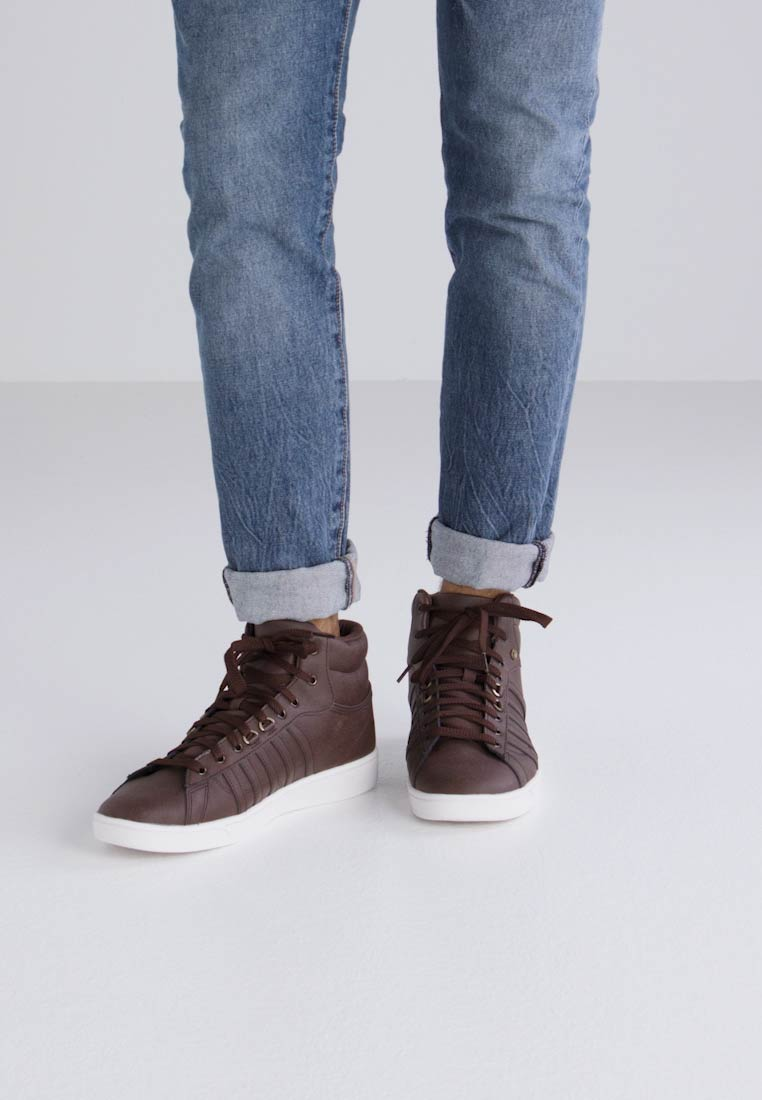 K-SWISS HOKE MID CMF - - - Sneaker high - chocolate/cloud dancer e9f044