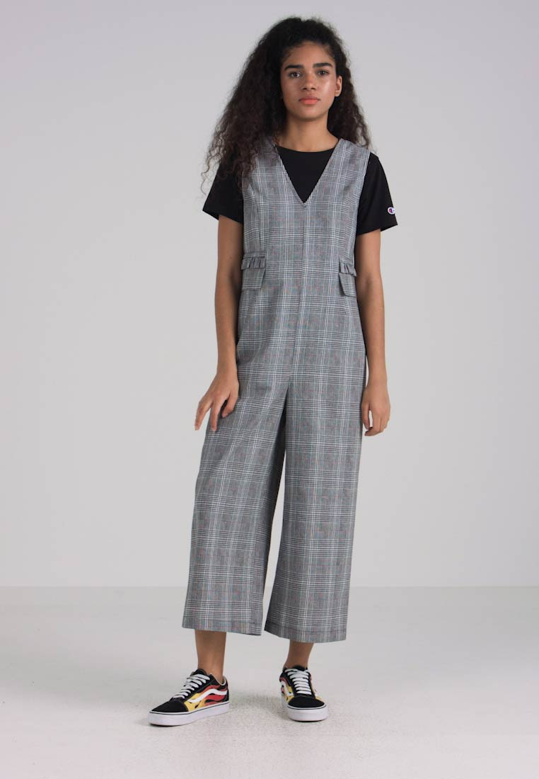 Lost Ink - CHECK  - Jumpsuit - grey