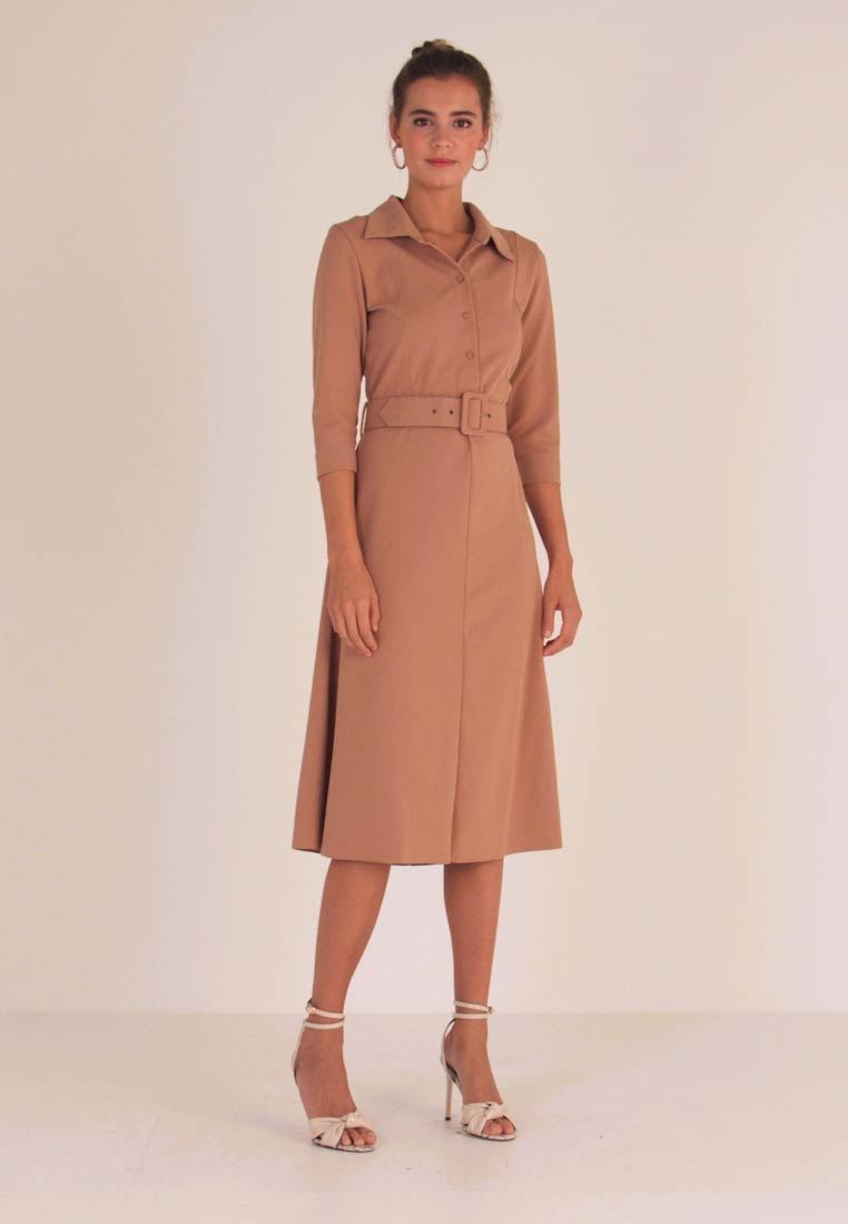 Love Copenhagen - ANULC DRESS - Shirt dress - camel