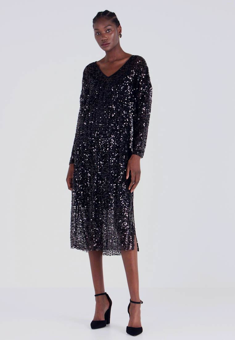 Love Copenhagen - MALY SEQUINS DRESS - Robe de soirée - pitch black
