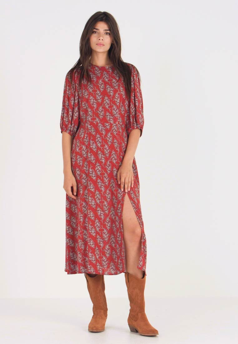 Louche - RILEY PAISLEY - Maxikleid - red