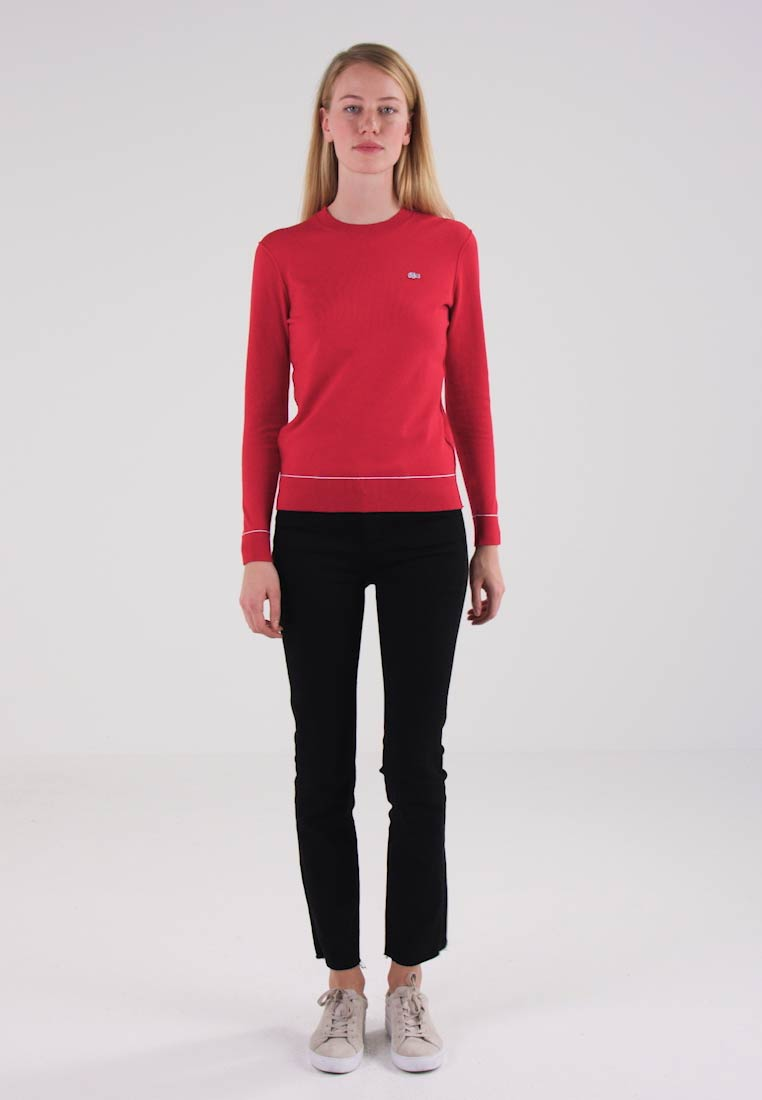 Lacoste LIVE Jumper - tokyo red/white