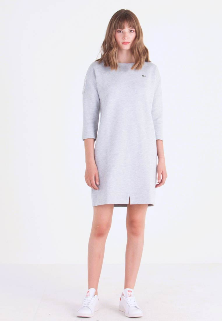Lacoste - Day dress - silver chine