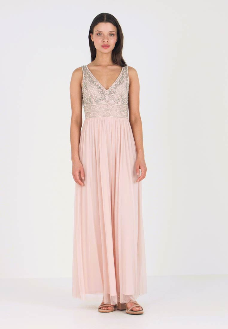 KRESHMA MAXI , Robe de cocktail , nude