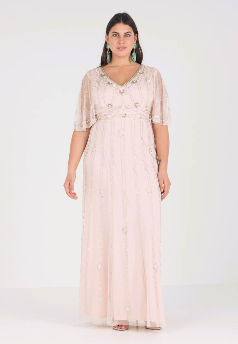Lace & Beads Curvy - EXCLUSIVE PERSIA MAXI - Ballkleid - nude