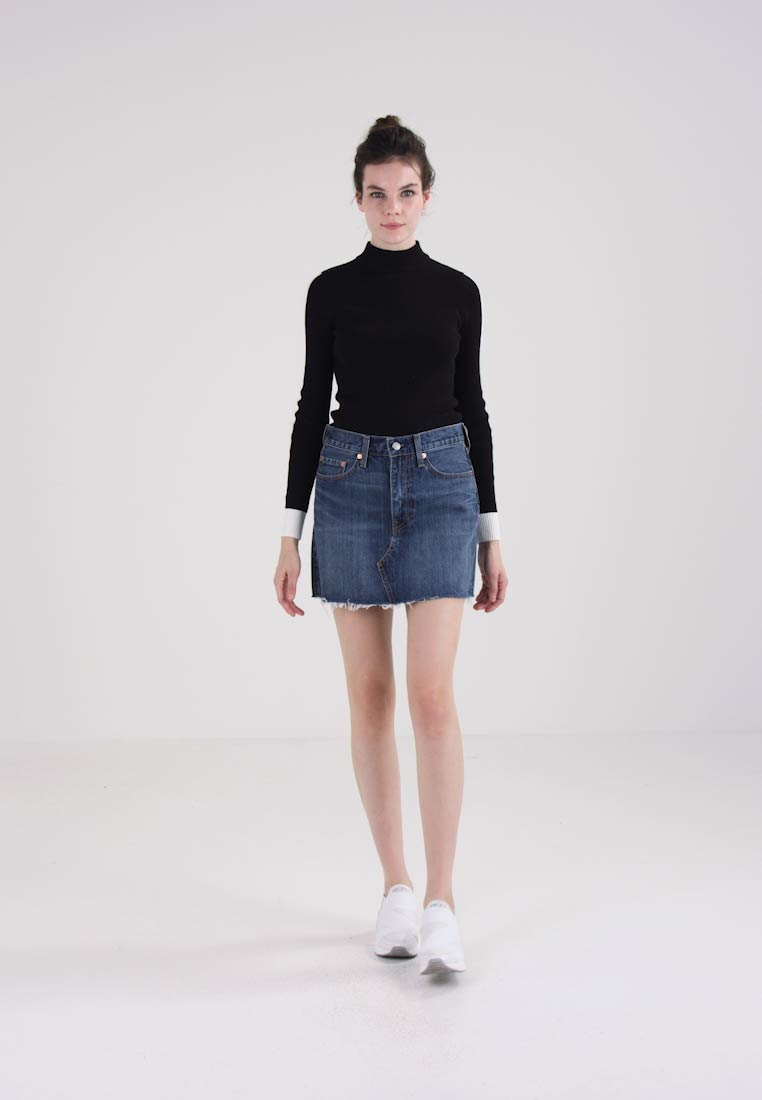 Levi's® DECONSTRUCTED SKIRT - A-line skjørt beetlebum