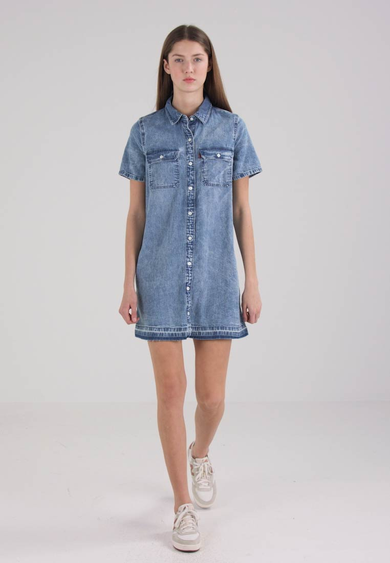 Levis® DELFINA DRESS - Robe en jean - wannabe
