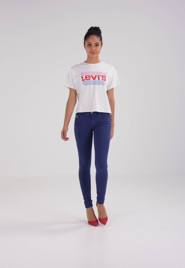 Levis® GRAPHIC TEE - T-shirts med print - cloud dancer