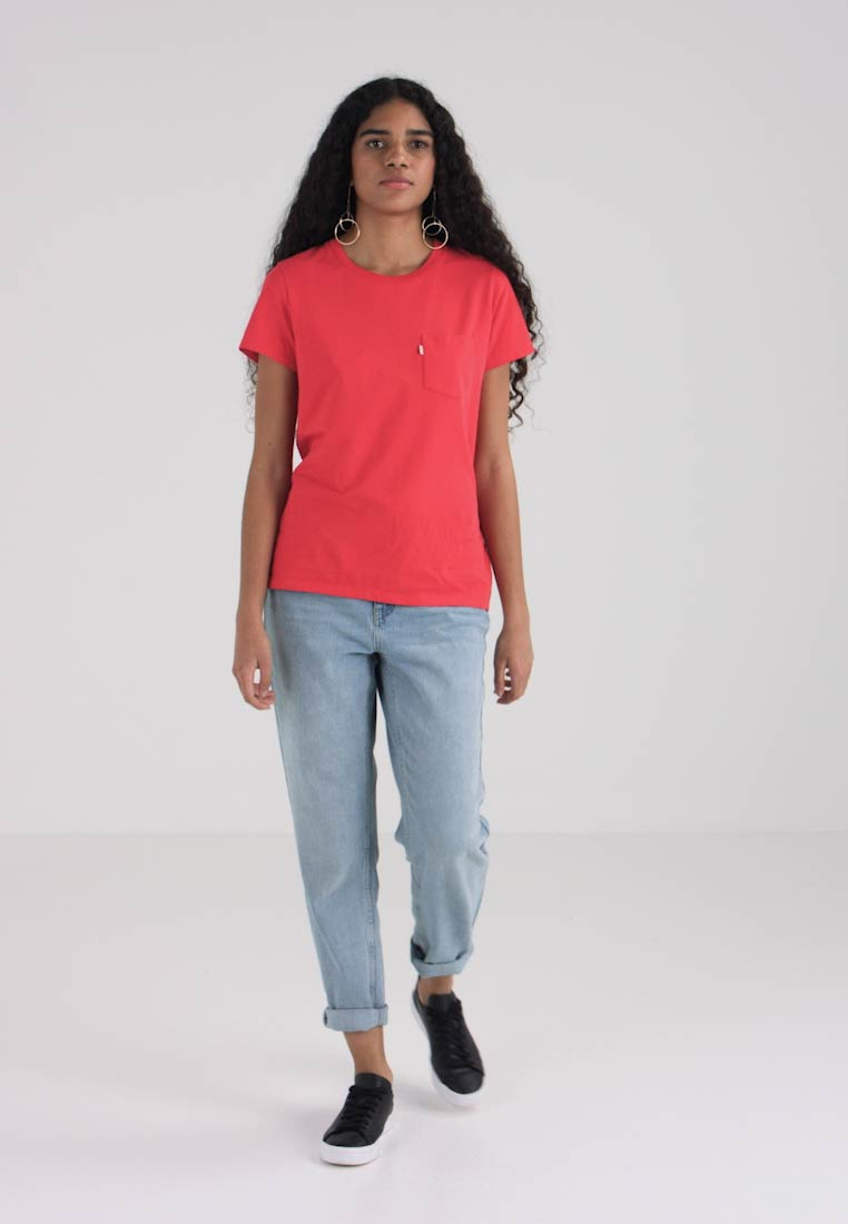 Print T Chinese Red The Perfect shirt Crew Levi's® F1ztwqaF