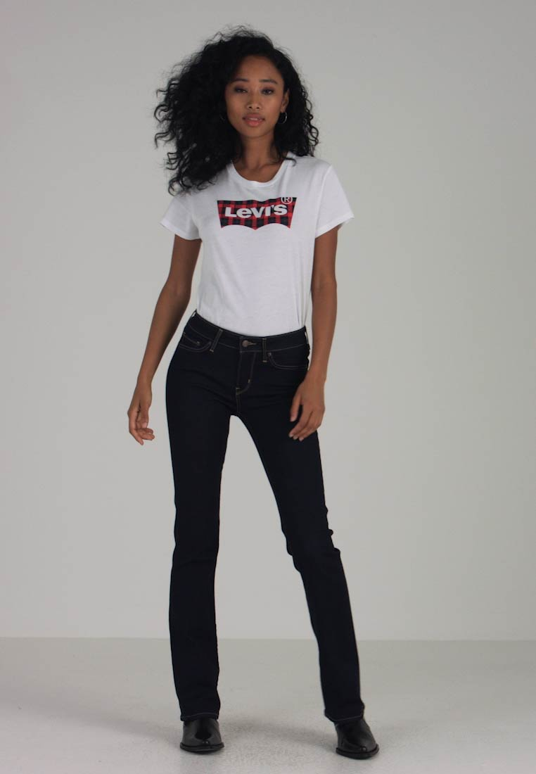 Levi's® - 715™ BOOTCUT - Jeansy Bootcut - rinsed denim