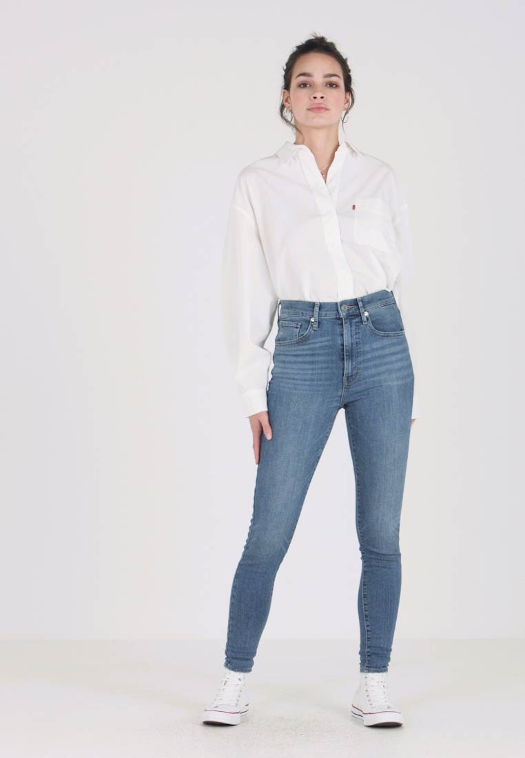 Levi's® - MILE HIGH SUPER SKINNY - Jeans Skinny - business as usual