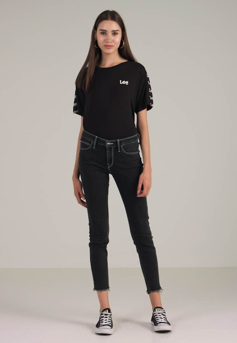 Scarlett Skinny Concrete Jeans Lee Grey Fit q6wP7d
