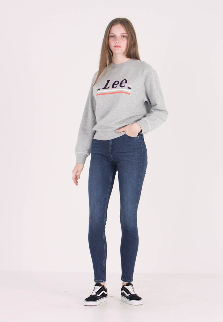 Lee - SCARLETT HIGH - Jeans Skinny Fit - sitka worn in