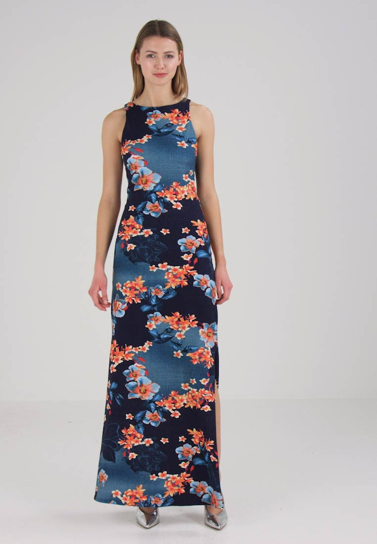 Lez a Lez Robe longue - dark blue