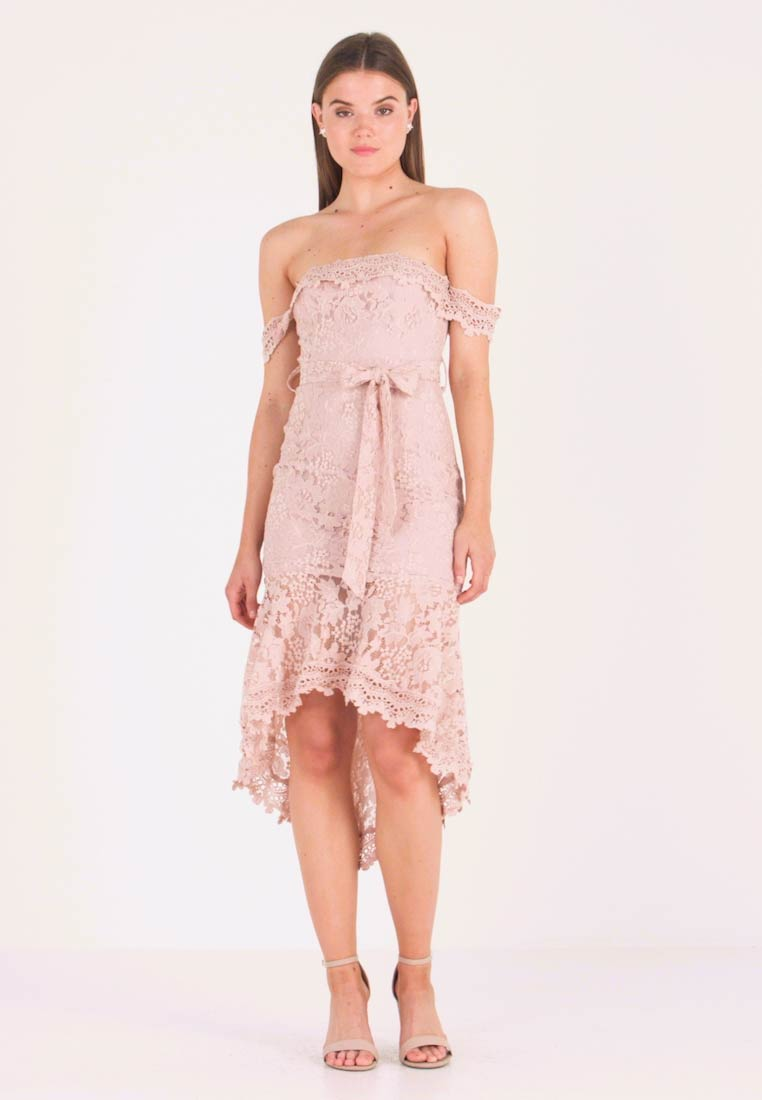 Love Triangle - PICTURE THIS MIDI DRESS - Cocktail dress / Party dress - nude