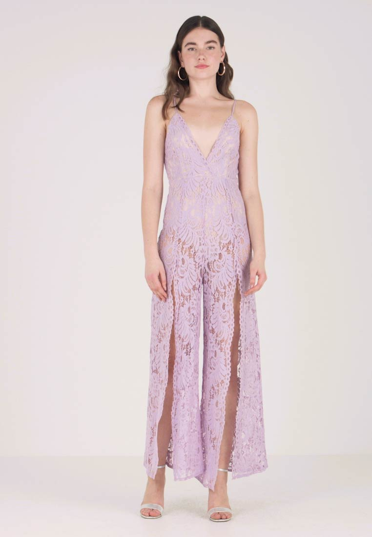 Love Triangle - WALK ON THROUGH - Jumpsuit - lilac