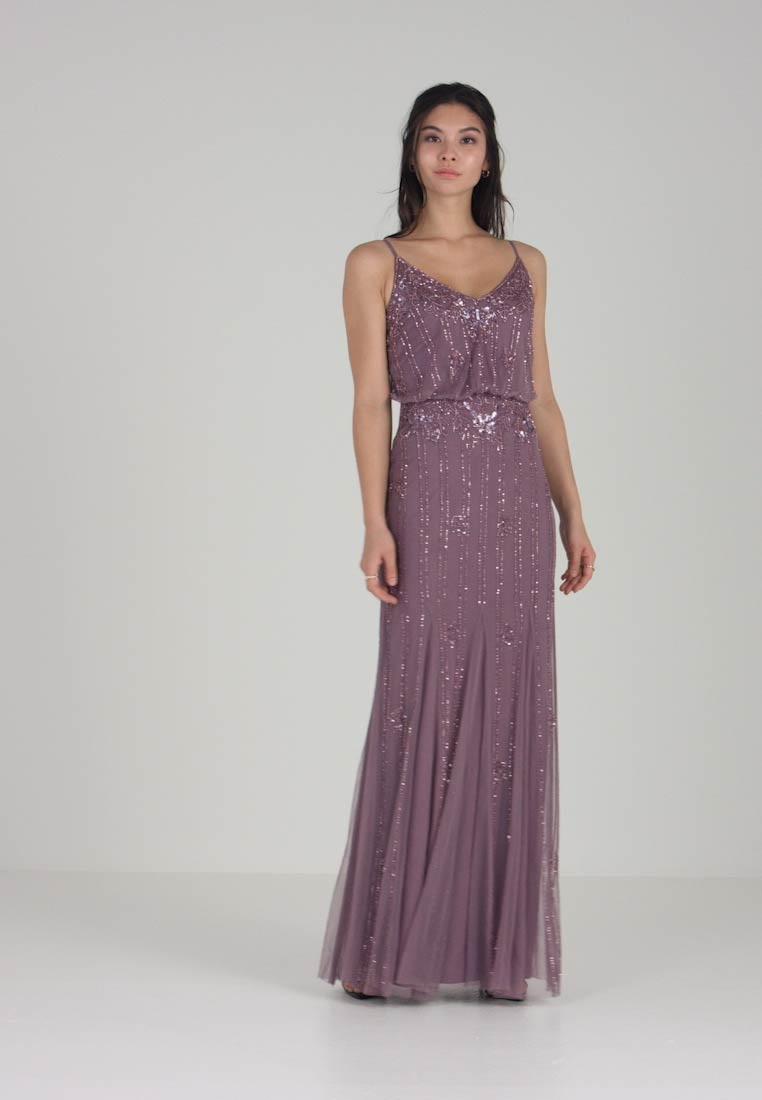Lace & Beads - KEEVA MAXI - Occasion wear - mauve