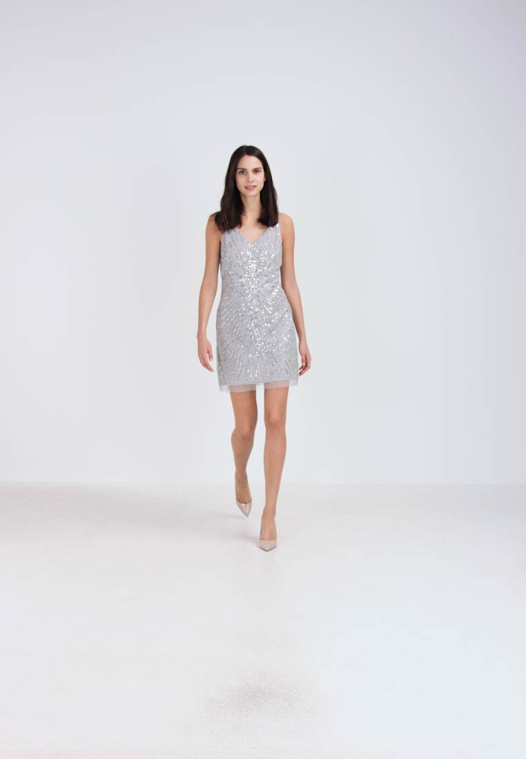 Lace & Beads HASNA - Robe de soirée - light grey
