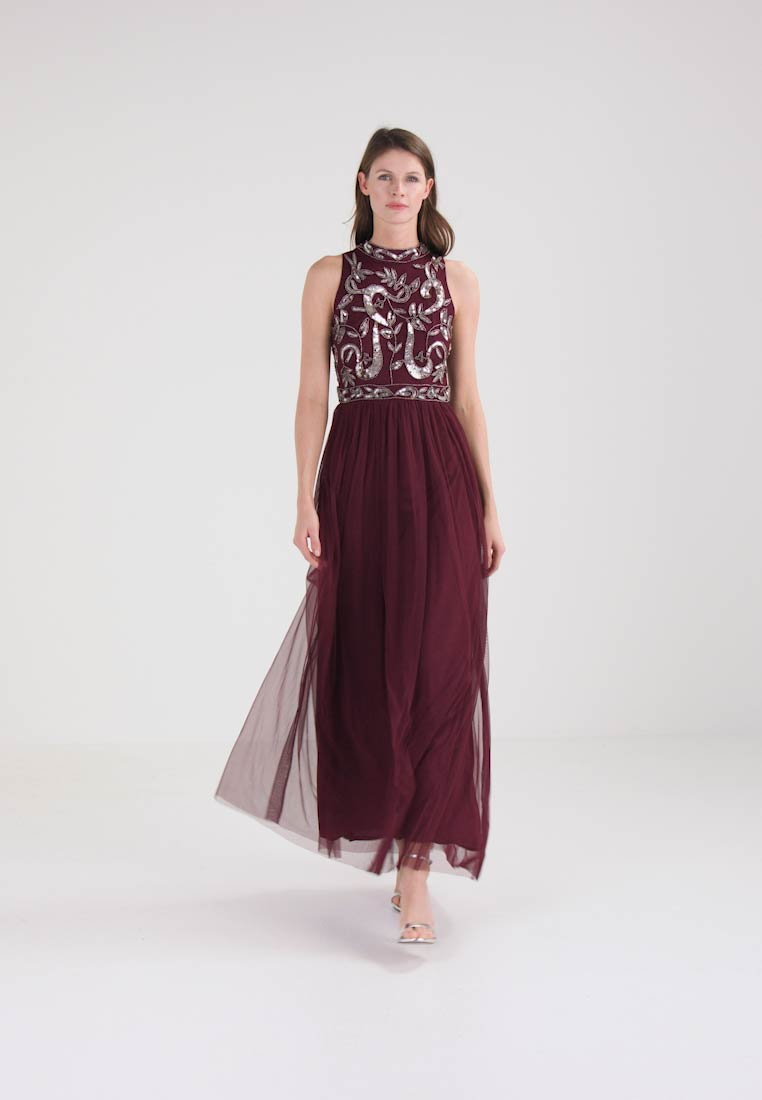 Lace & Beads AARUSHI - Robe de cocktail - burgundy
