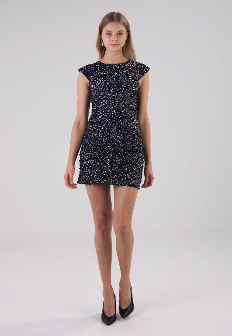 Lace & Beads PICA DRESS - Cocktailkjole black iridesescent