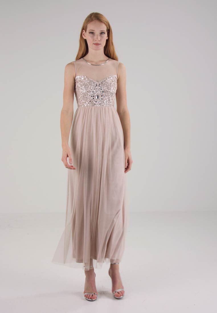 Robe Celia Beads Zalando Laceamp; Cocktail Maxi De Cream fr 9IYWeDHbE2