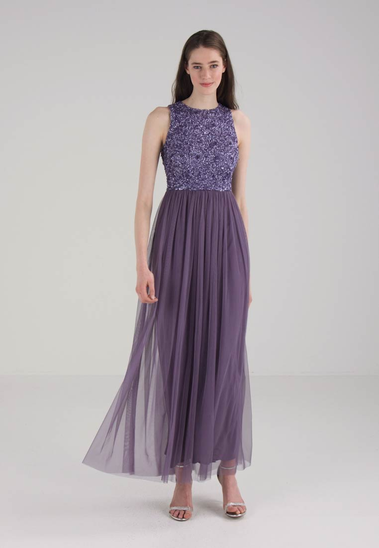 Lace & Beads - PICASSO - Ballkleid - dark lavender