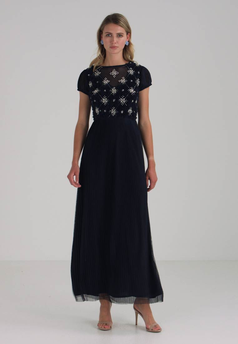 Lace amp; Occasion Navy Campella Beads Wear Maxi 7gw7Pq