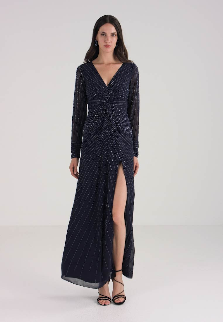 Lace & Beads - MALMO MAXI - Occasion wear - navy
