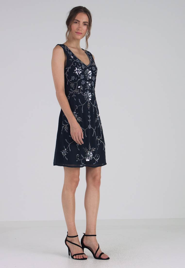 Lace & Beads - BEDIS DRESS - Cocktail dress / Party dress - navy