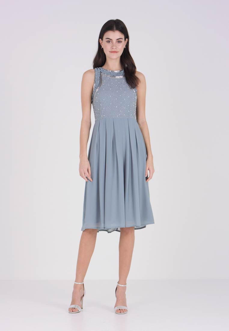Lace & Beads - JUNO DRESS - Vestido de cóctel - blue