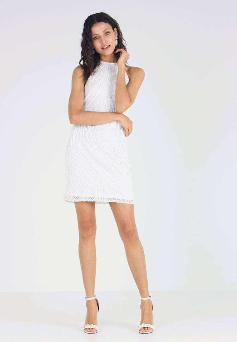 Lace & Beads - DRESS - Cocktail dress / Party dress - white