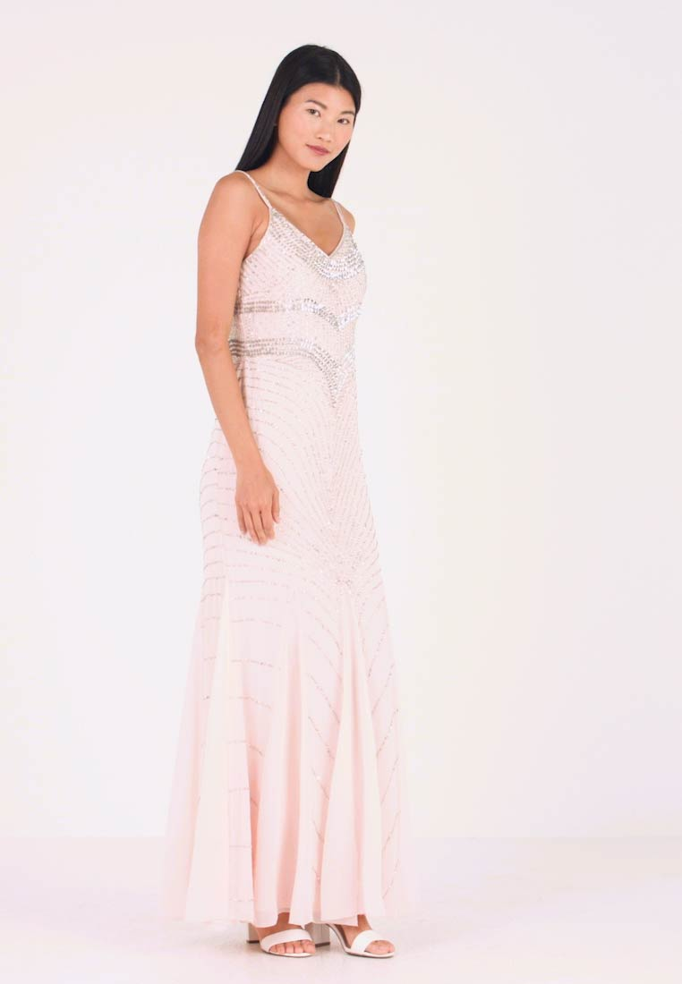 Lace & Beads - MONET MAXI - Ballkleid - nude