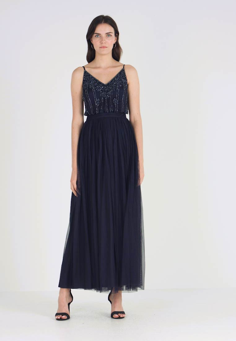 Lace & Beads - KEEVA MARIKO - Ballkleid - navy