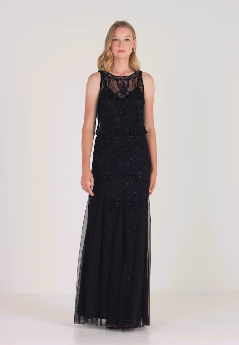 Lace & Beads - MACY MAXI - Occasion wear - black