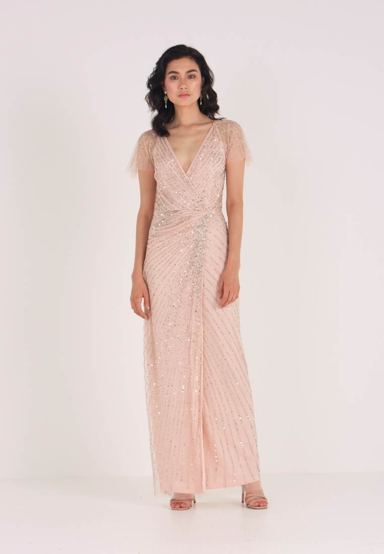 Lace & Beads - MAYSIE MAXI - Robe de cocktail - blush